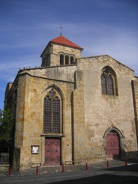 Photo du Monument Historique Eglise Saint-Pierre situé à Plauzat