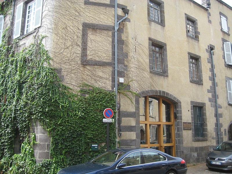 Photo du Monument Historique Baptistère Saint-Jean situé à Riom