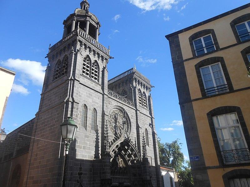 Photo du Monument Historique Eglise Notre-Dame du Marthuret situé à Riom