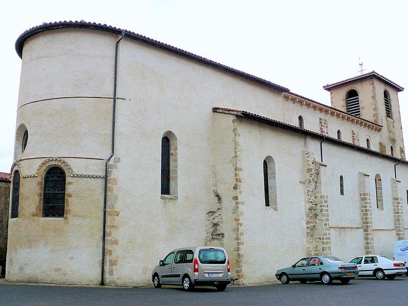Photo du Monument Historique Eglise Sainte-Agathe situé à Ris