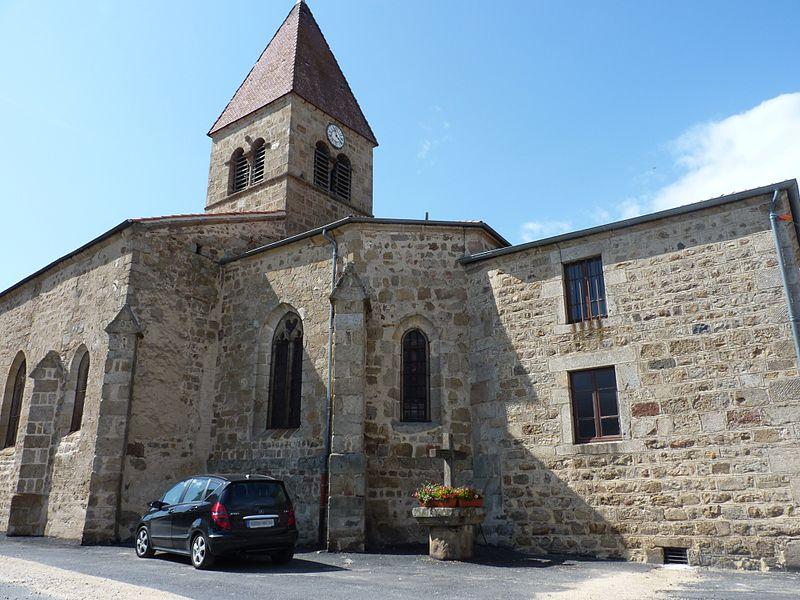 Photo du Monument Historique Eglise Saint-Pierre situé à Saillant