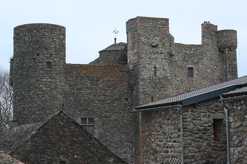 Photo du Monument Historique Château de Saint-Diéry situé à Saint-Diéry