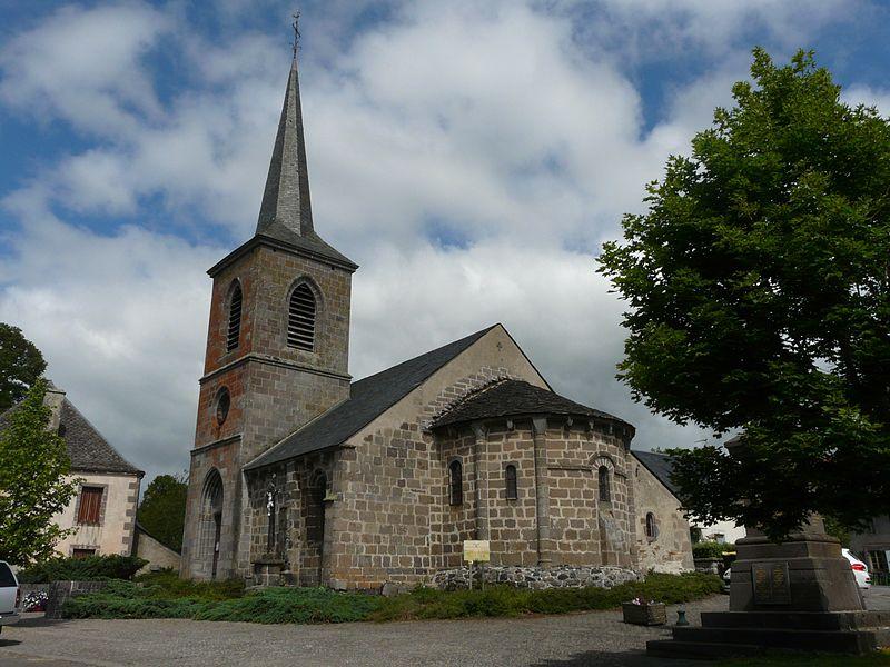 Photo du Monument Historique Eglise Saint-Donat situé à Saint-Donat