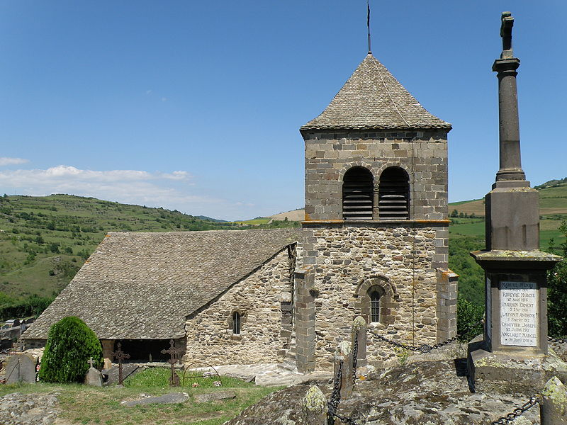 Photo du Monument Historique Eglise-Haute (ou église du Chastel) situé à Saint-Floret
