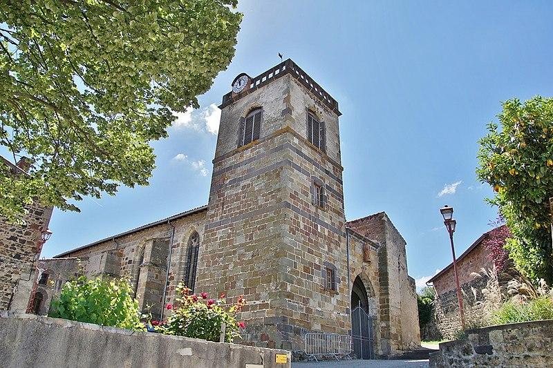 Photo du Monument Historique Eglise Saint-Georges situé à Saint-Georges-sur-Allier
