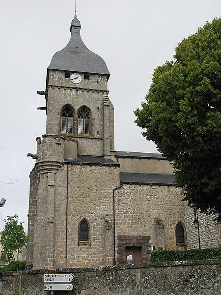 Photo du Monument Historique Eglise Saint-Gervais et Saint-Protais situé à Saint-Gervais-d'Auvergne
