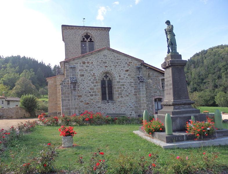 Photo du Monument Historique Eglise Saint-Gervais et Saint-Protais situé à Saint-Gervais-sous-Meymont