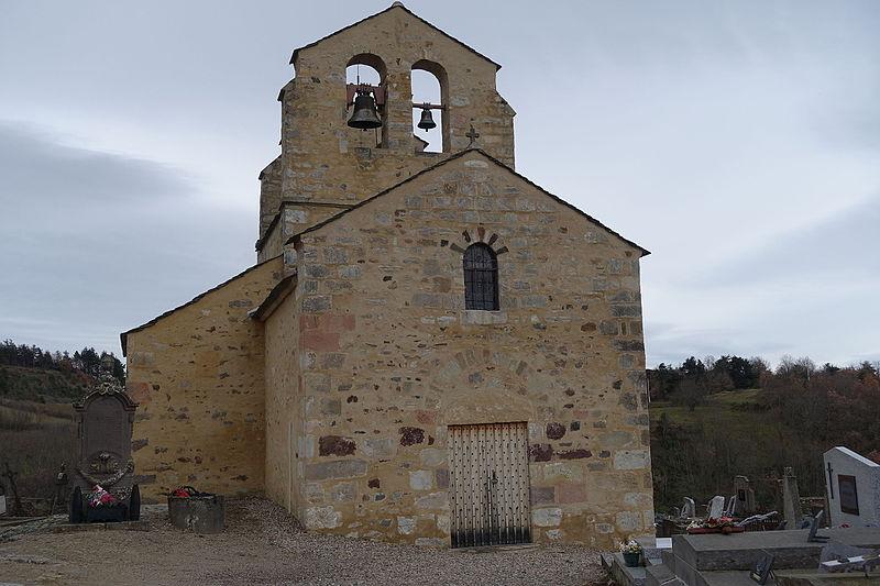 Photo du Monument Historique Eglise Sainte-Claire situé à Saint-Hérent