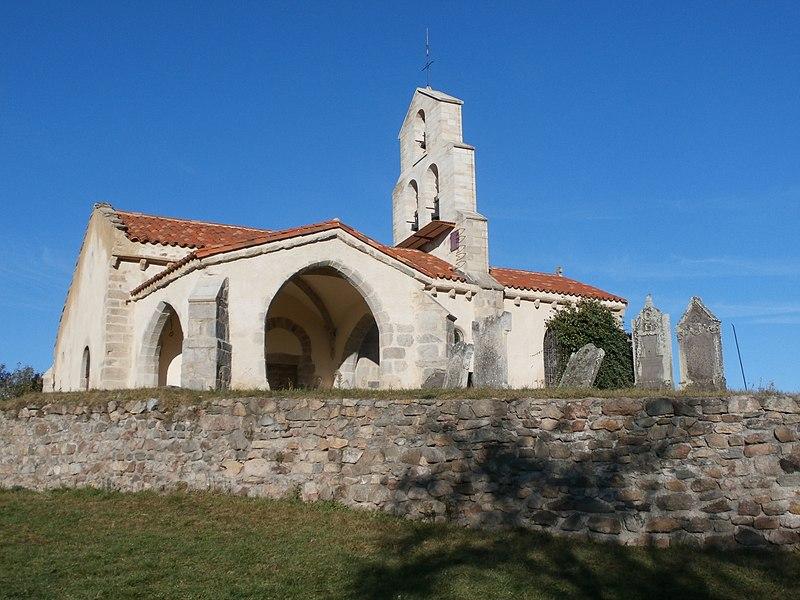 Photo du Monument Historique Eglise Saint-Jean-Baptiste situé à Saint-Jean-Saint-Gervais