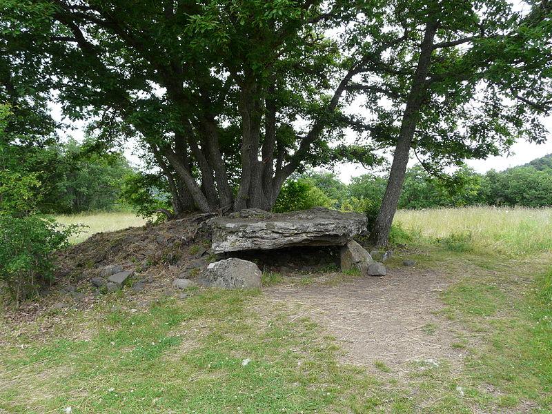 Photo du Monument Historique Dolmen de Saillant situé à Saint-Nectaire