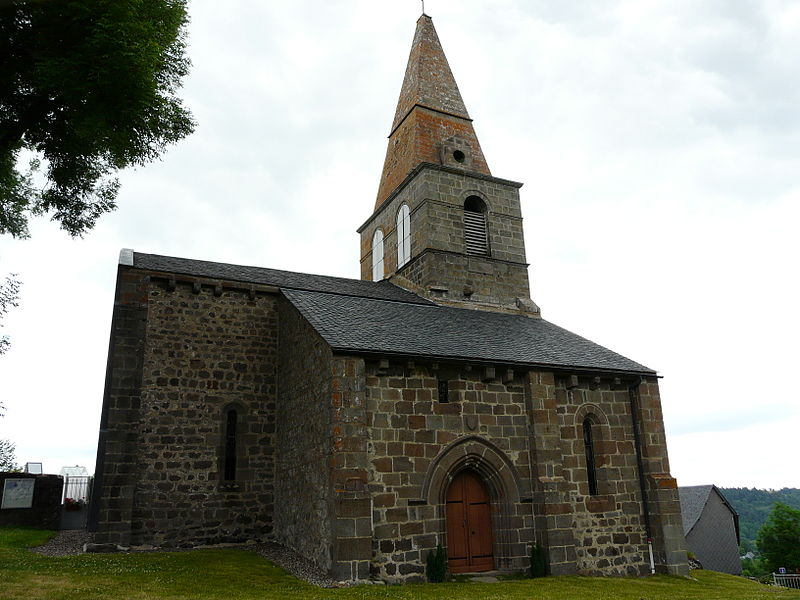 Photo du Monument Historique Eglise Saint-Victor situé à Saint-Victor-la-Rivière
