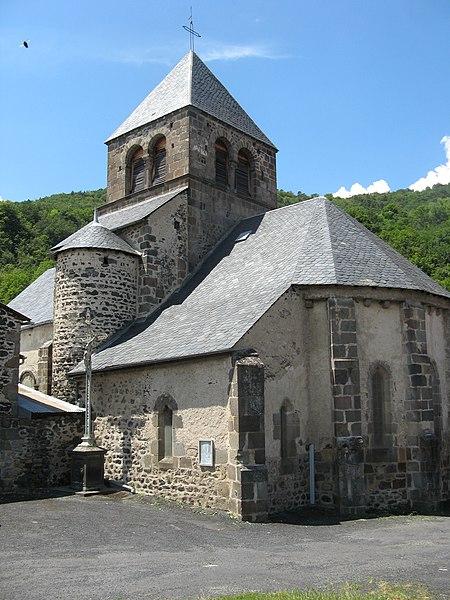 Photo du Monument Historique Eglise Sainte-Radegonde situé à Saurier