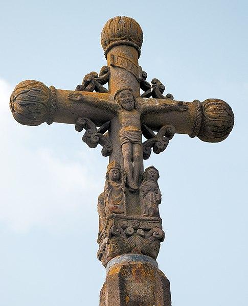 Photo du Monument Historique Croix de chemin du 16e siècle situé à Sermentizon