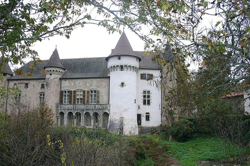 Photo du Monument Historique Château d'Aulteribe situé à Sermentizon