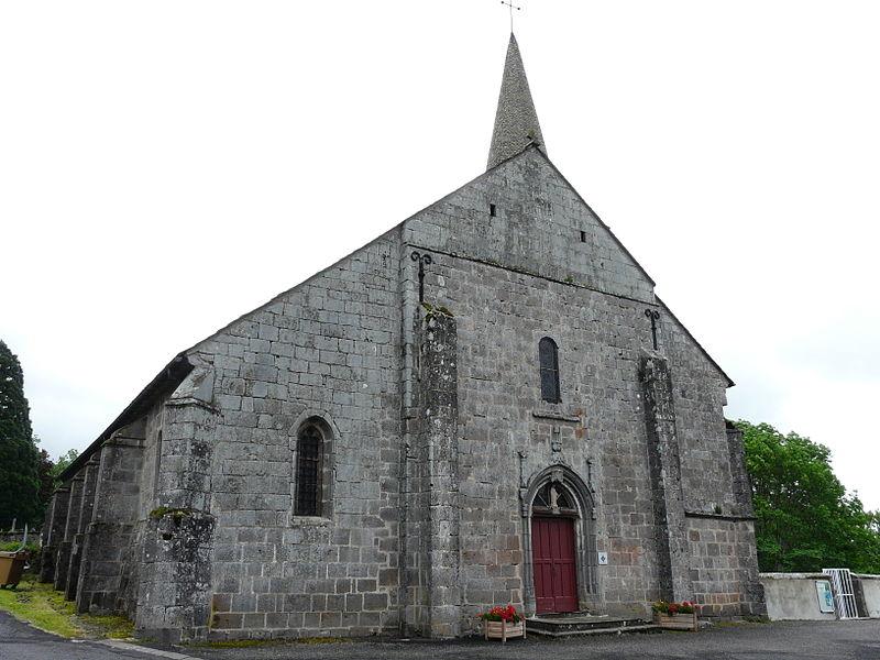 Photo du Monument Historique Eglise Saint-Pardoux situé à La Tour-d'Auvergne