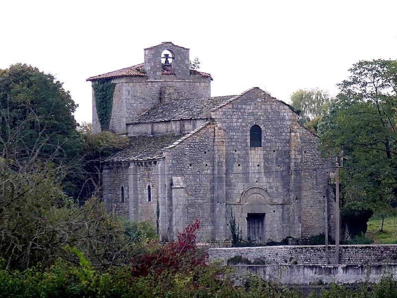 Photo du Monument Historique Ancienne église romane, ou chapelle d'Andelot situé à Vensat