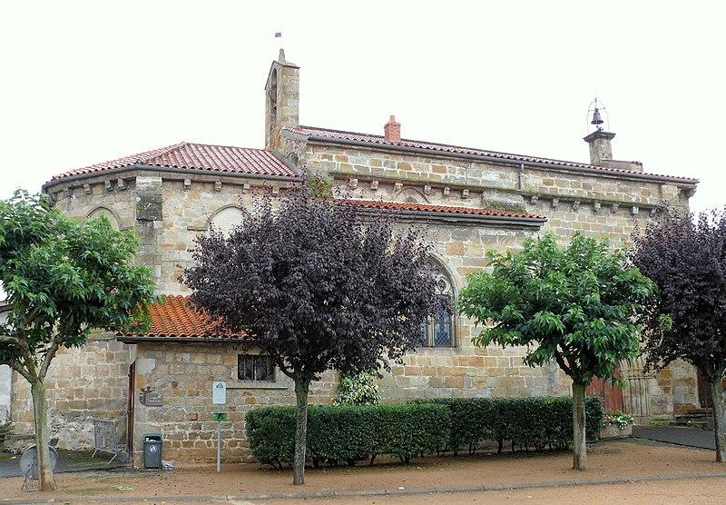 Photo du Monument Historique Eglise Saint-Jean-Baptiste situé à Vic-le-Comte