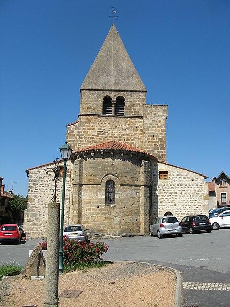 Photo du Monument Historique Eglise Saint-Martin d'Yronde situé à Yronde-et-Buron