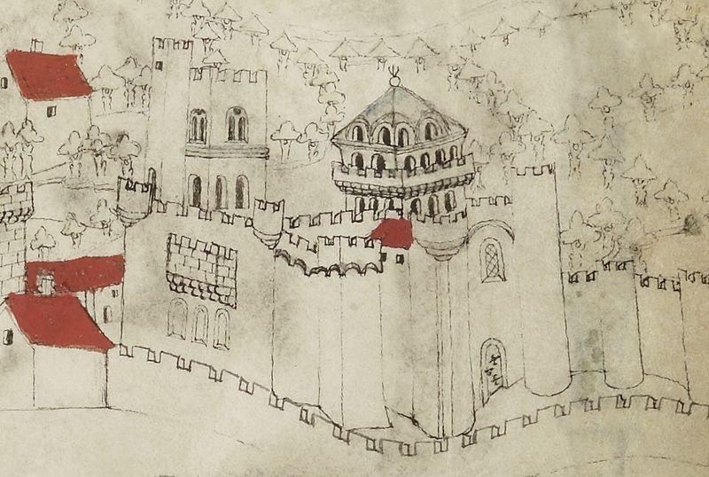 Photo du Monument Historique Ancienne abbaye de Saint-Alyre situé à Clermont-Ferrand