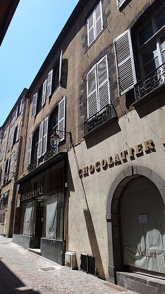 Photo du Monument Historique Hôtel de Champflour situé à Clermont-Ferrand