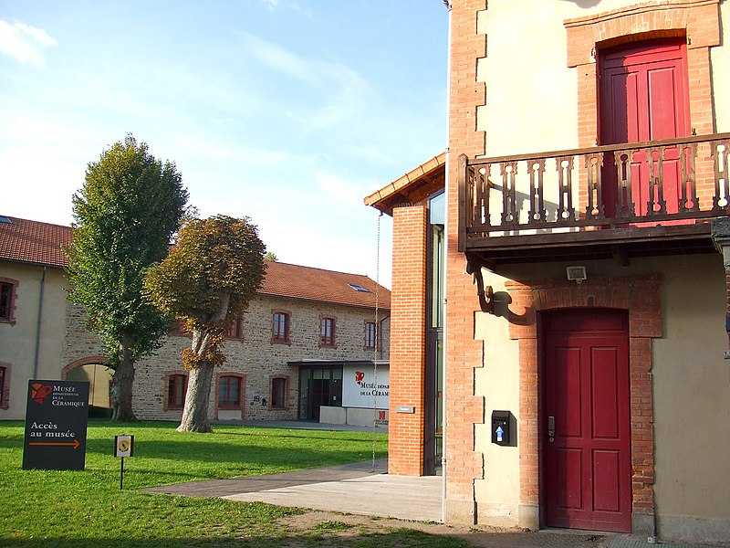 Photo du Monument Historique Usine Bompard situé à Lezoux
