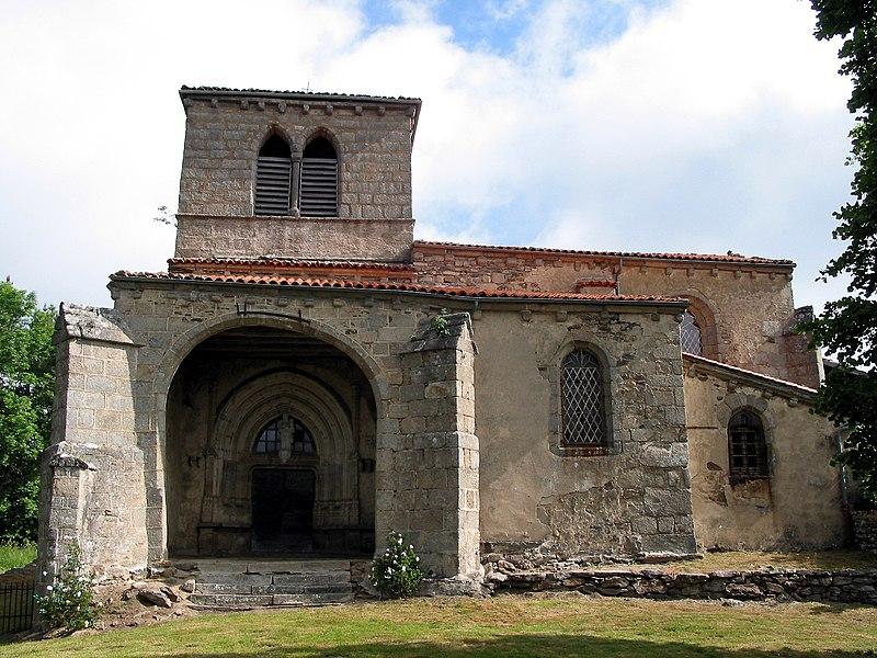 Photo du Monument Historique Eglise Notre-Dame-de-Mons situé à Champétières