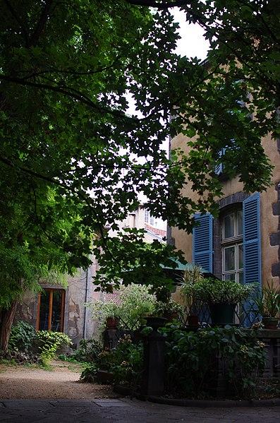 Photo du Monument Historique Hôtel situé à Clermont-Ferrand
