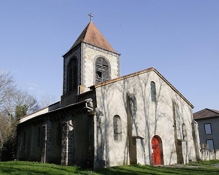 Photo du Monument Historique Eglise paroissiale Saint-Bonnet situé à Paslières