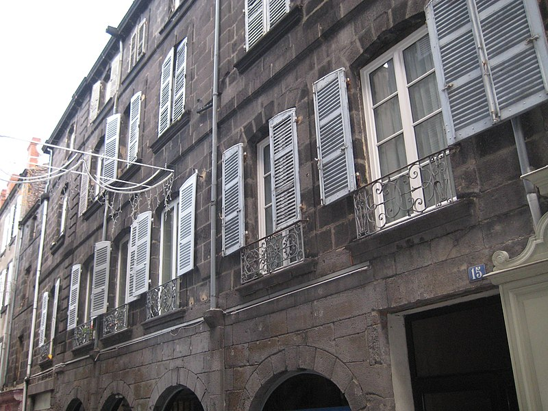 Photo du Monument Historique Vestiges de l'ancien évêché situé à Clermont-Ferrand