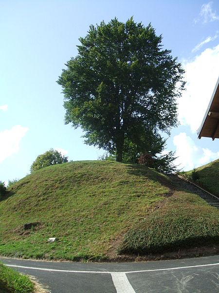 Photo du Monument Historique Motte féodale situé à Giat