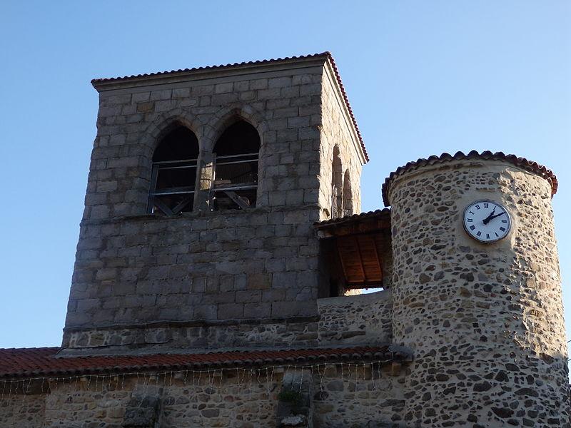 Photo du Monument Historique Eglise Saint-Géraud situé à Auzat-sur-Allier