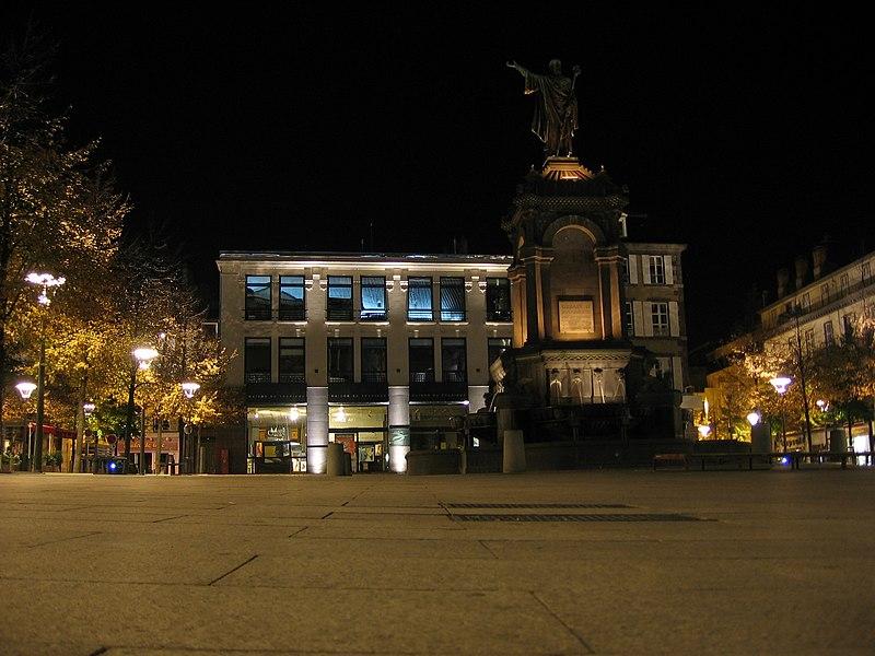Photo du Monument Historique Fontaine d'Urbain II situé à Clermont-Ferrand