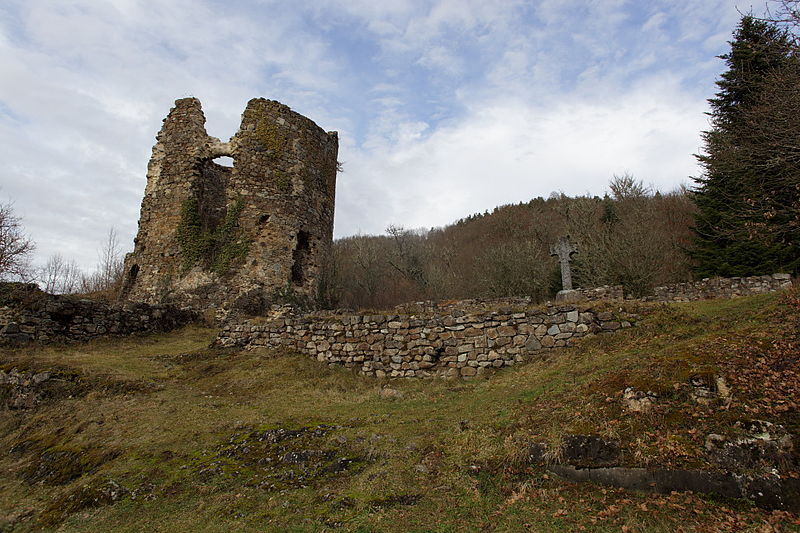 Photo du Monument Historique Chartreuse du Port-Sainte-Marie (également sur commune de Chapdes-Beaufort) situé à Ancizes-Comps (Les)