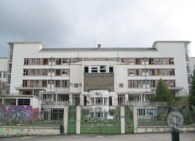 Photo du Monument Historique Ancien hôpital-sanatorium Sabourin situé à Clermont-Ferrand