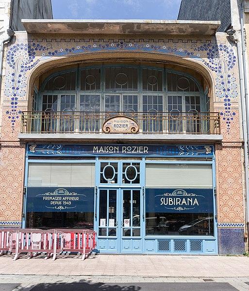 Photo du Monument Historique Pâtisserie Rozier situé à La Bourboule