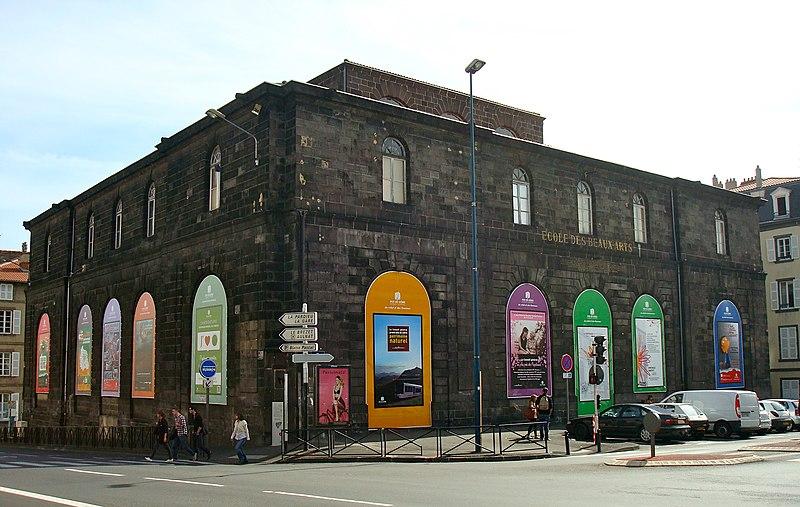 Photo du Monument Historique Halle aux blés situé à Clermont-Ferrand