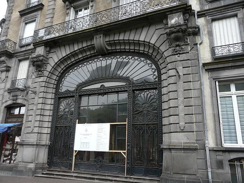 """Photo du Monument Historique Hôtel """"Le Sarciron"""" situé à Mont-Dore"""