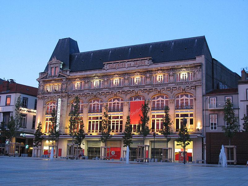 """Photo du Monument Historique Grand magasin """"les Galeries de Jaude"""" situé à Clermont-Ferrand"""