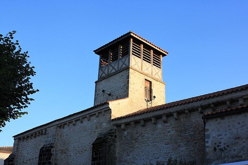 Photo du Monument Historique Eglise de Saint-Martin-des-Plains situé à Saint-Martin-des-Plains
