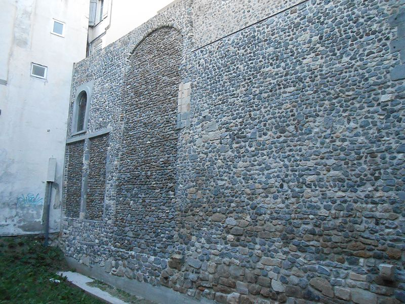 Photo du Monument Historique Fortifications gallo-romaines situé à Clermont-Ferrand