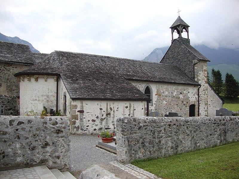 Photo du Monument Historique Chapelle Saint-Saturnin de Jouers situé à Accous