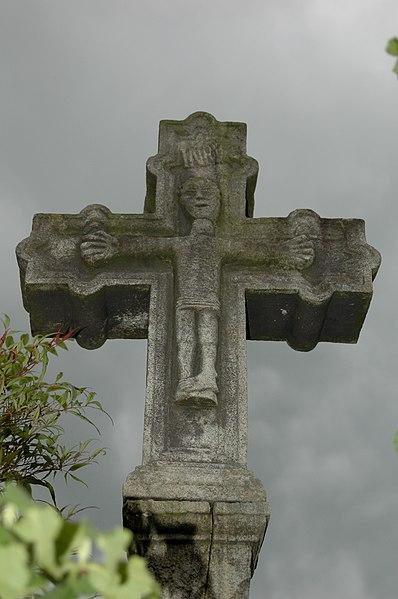 Photo du Monument Historique Croix de cimetière d'Ahaxe situé à Ahaxe-Alciette-Bascassan