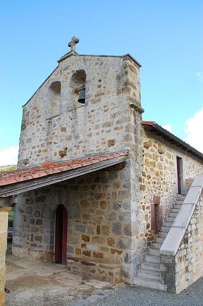 Photo du Monument Historique Eglise Saint-Sauveur-d'Alciette situé à Ahaxe-Alciette-Bascassan