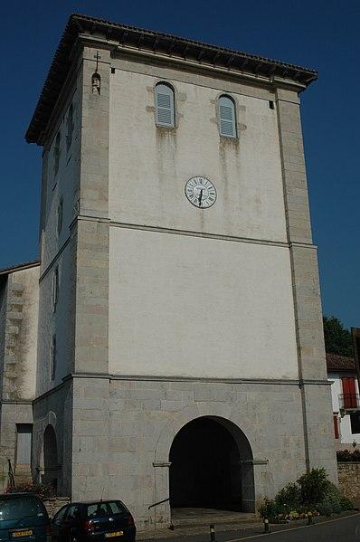 Photo du Monument Historique Eglise de l'Assomption situé à Ascain