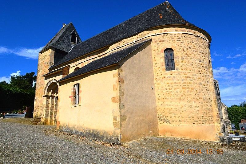 Photo du Monument Historique Eglise Saint-Pierre-d'Aurions situé à Aurions-Idernes