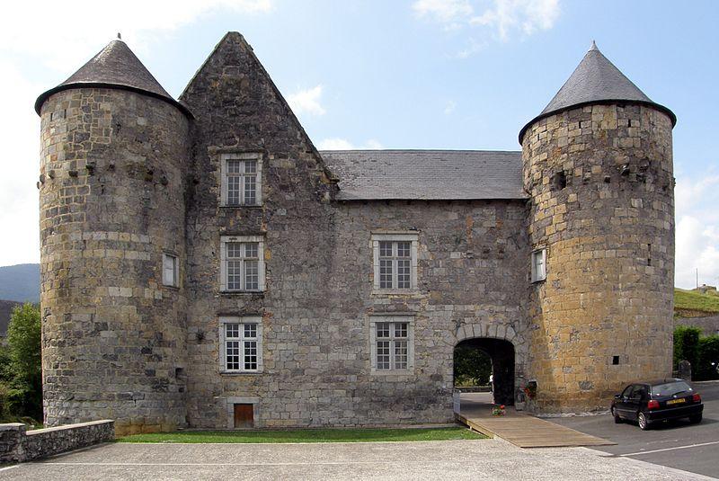 Photo du Monument Historique Château de Ruthie situé à Aussurucq