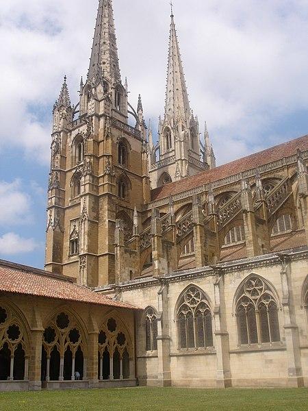 Photo du Monument Historique Cathédrale Notre-Dame situé à Bayonne