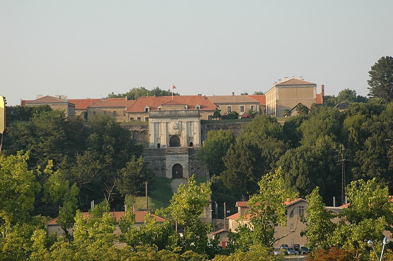 Photo du Monument Historique Citadelle situé à Bayonne