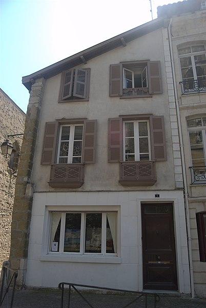 Photo du Monument Historique Maison Saubist situé à Bayonne