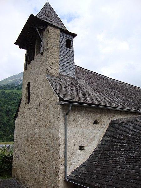 Photo du Monument Historique Chapelle d'Orcun situé à Bedous